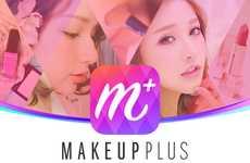 Makeup-Applying Apps