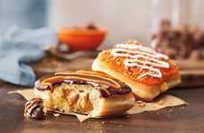 Cheesy Pumpkin Donuts