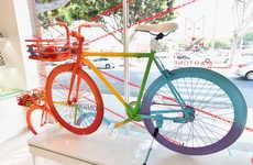 Artistic Bike Installations