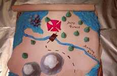 Topographic Pirate Cakes