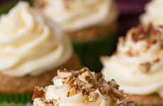 Savory Zucchini Cupcakes