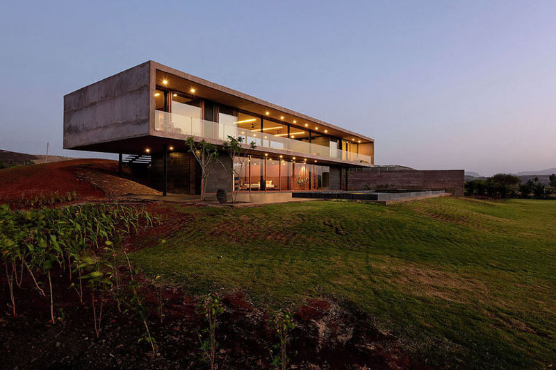 Panoramic Minimalist Houses
