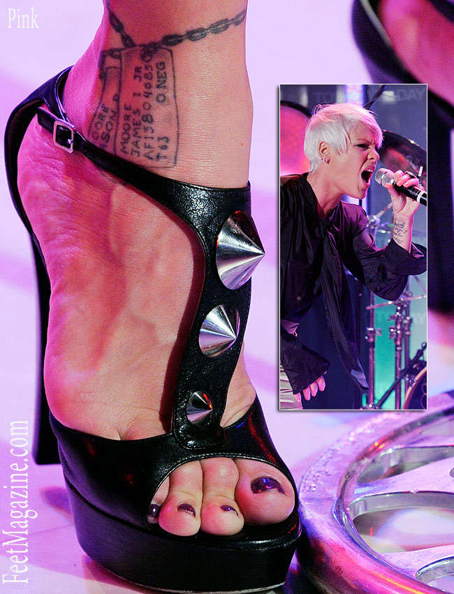 Celebrity Foot Fetishes