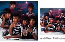 Child Album Cover Recreations