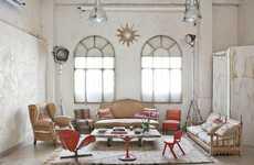 Rustic Whitewashed Lofts