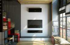 High-Ceiling Micro Apartments