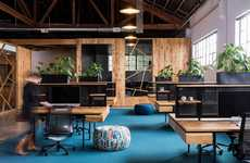 Wood-Clad Office Spaces