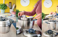 Streamlined Stackable Cookware