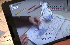 Augmented Reality Coloring Books