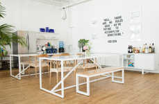 Wall-Free Office Spaces