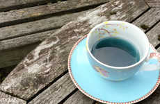 Floral Cobalt Teas