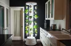 Luminous Vertical Gardens