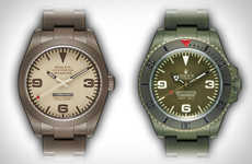 Military-Inspired Luxury Watches