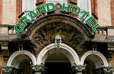 Surreal Antique Hotel Editorials