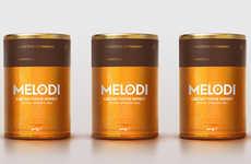 Art Deco Honey Packaging