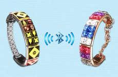 Message-Sending Friendship Bracelets