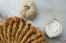 Twisted Pumpkin Pastries
