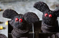 Festive Bat-Shaped Truffles