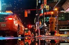Reflective Cityscape Photography