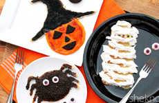 Ghoulish Halloween Pancakes