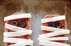 Mummified Pizza Toasts