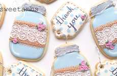 Dainty Glassware Cookies