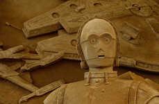 Deep-Space Desert Sculptures