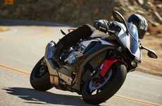 Canyon-Carving Motorbikes