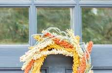Festive Floral Wreaths