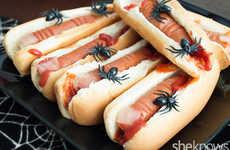 Gruesome Hot Dog Fingers