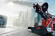 Robotic Firefighter