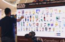 Sci-Fi Supermarket Displays