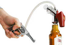 Pistol-Shaped Shot Pourers