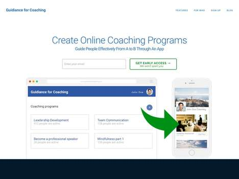 Coach Program-Creating Apps