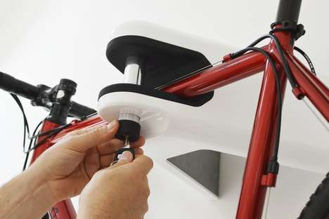 Wall-Mounted Bicycle Brackets