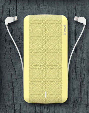 Cable-Integrated Power Banks