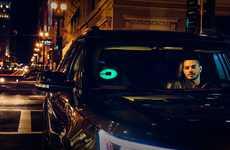 Customizable Rideshare Car Lights