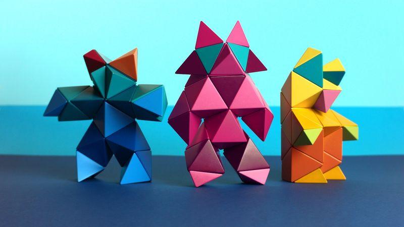 Geometrical Construction Toys