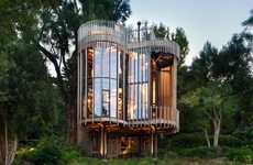 Cylindrical Tree Houses