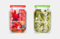 Jar-Shaped Pouch Packages