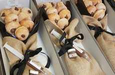 Choco-Hazelnut Donut Bouquets