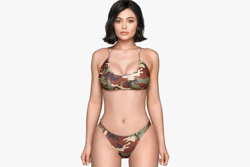 Socialite-Made Camouflage Merchandise