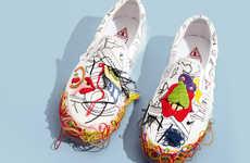 Co-Branded Slip-On Sneakers