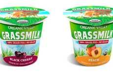 Grass-Fed Cow Milk Yogurts