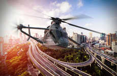 Speedy Multi-Rotor Helicopters