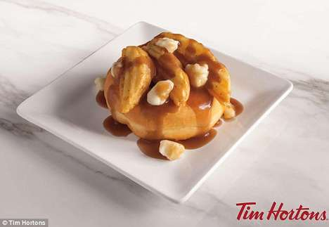 Decadent Poutine Donuts