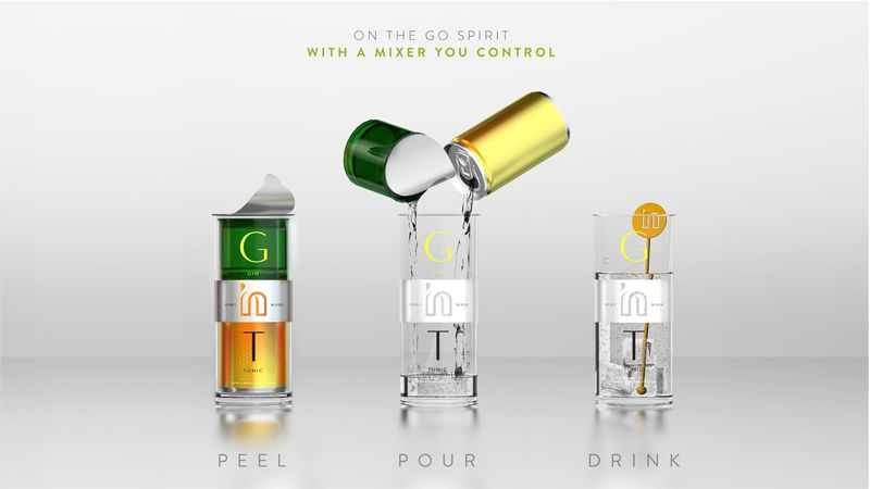 Ready-to-Mix Cocktail Packaging