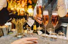 Champagne Cocktail Pop-Ups