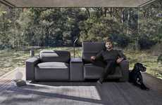 Vehicle-Inspired Sofas