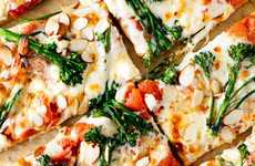 Healthy Almond Pizzas